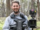 ACTION: Yeppoon man Peter Szilveszter captures the action on the set of what is set to be one of Australia's most exciting true-story feature films - The Legend of Ben Hall.