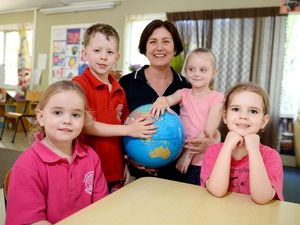 Preschoolers at South Rockhampton Kindy to learn Japanese