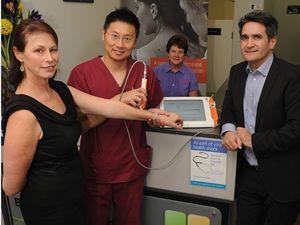 New machine helps identify melanoma accurately, painlessly
