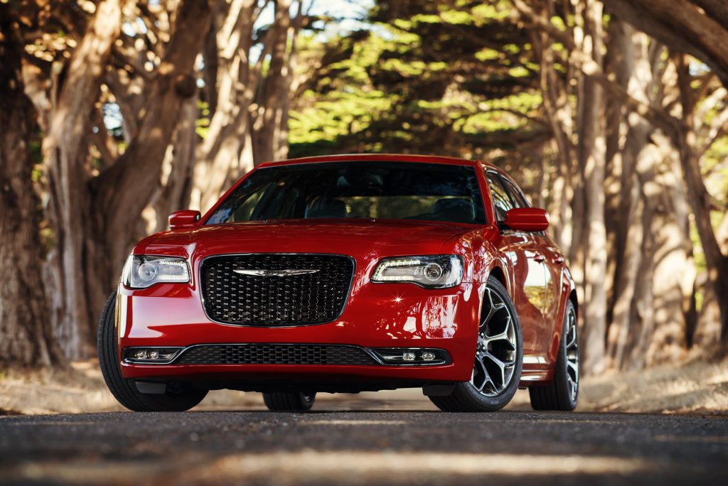 The 2015 Chrysler 300.