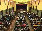 People crowded into Maryborough City Hall to hear from most of the Heritage City's State Government candidates.