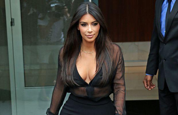Kim Kardashian, patron celebrity of big-bottomed women.