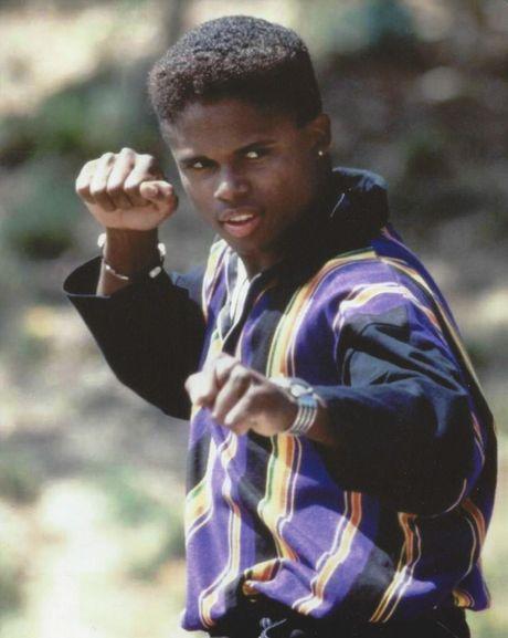 Walter Jones in a scene from the TV series Power Rangers.