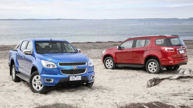 The MY15 Holden Colorado.