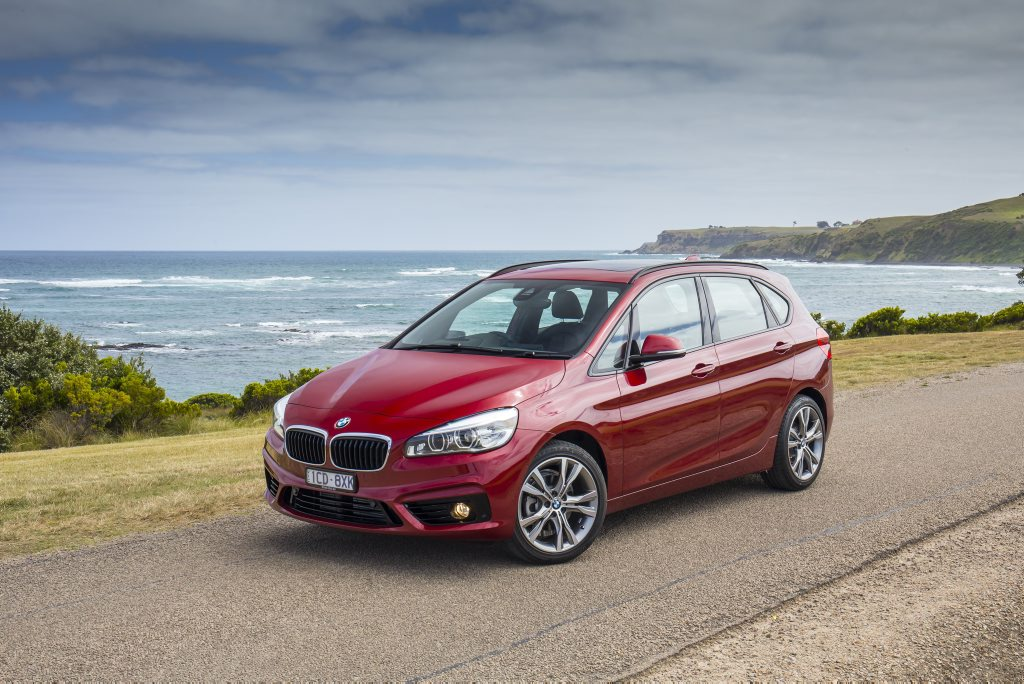 The BMW 2 Series Tourer.
