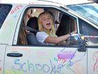 Mountain Creek State High School year 12 students celebrate the end of school. Photo: Brett Wortman / Sunshine Coast Daily
