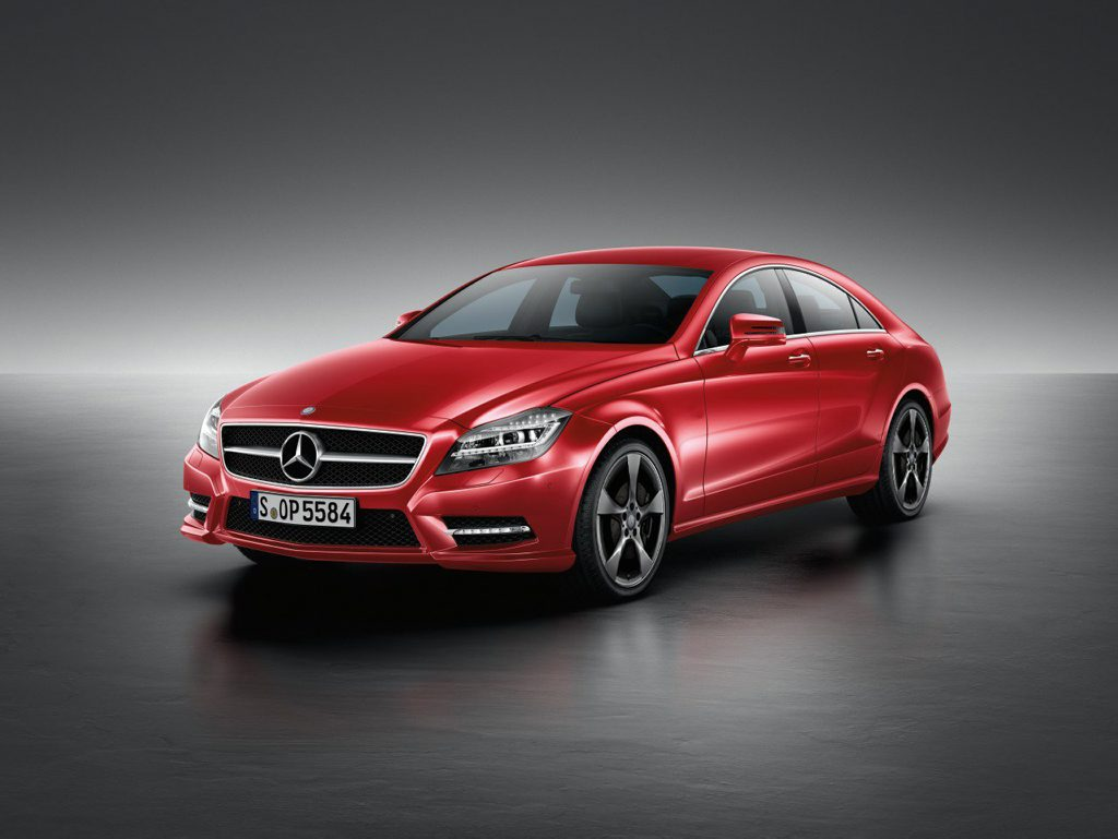 The Mercedes-Benz CLS 250 CDI Coupe Avantgarde 10 Edition.