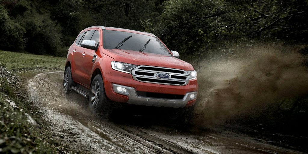 The Ford Everest.