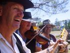 The Muddy Creek Bush Band will perform at the launch of Fraser Coast Street Life.