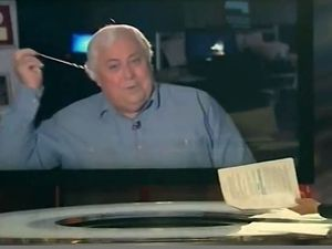 Clive Palmer storms off ABC (again) after China questions