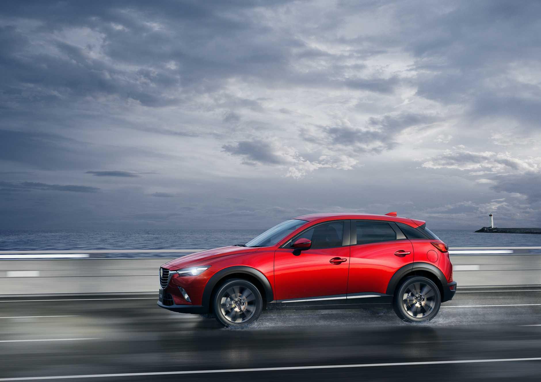 The Mazda CX-3.