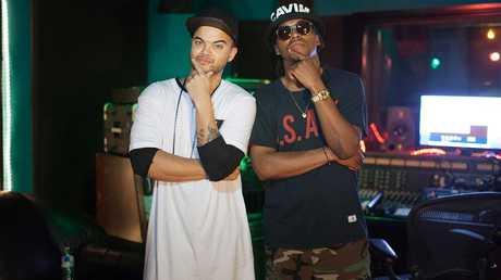 Guy Sebastian and American rapper Lupe Fiasco.