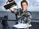 Angela Stephenson hits high seas