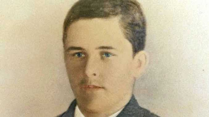 GREAT SUCCESS: Edward Henderson, as a young man, never failed to make an impression.