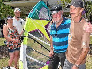 Pioneer of windsurfing marks 40th anniversary