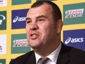 Michael Cheika is backing his troops for the World Cup final