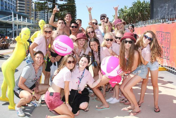 Schoolies on the Gold Coast. Photo Contributed