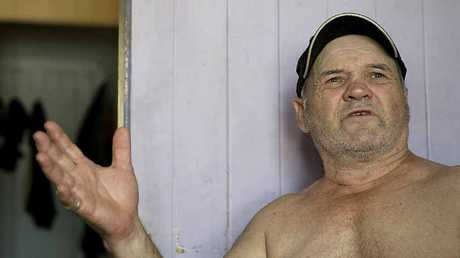 Joe Derkos was woken at 2am by police after the house he owned was destroyed in a fire.