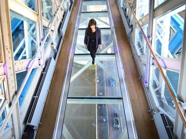 'Gutted' manager says it was 'a bit shortsighted' to allow guests to carry glass onto 140ft-high platform.