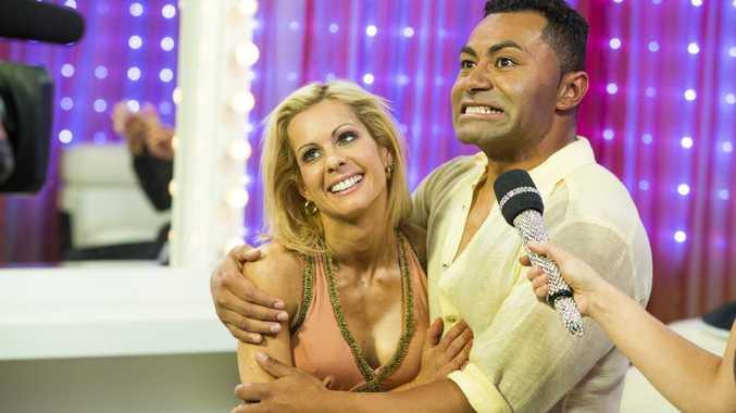 Dancing With The Stars winner David Rodan and his dance partner Melanie Hooper.