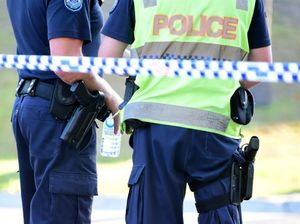 Police taser man with knife outside Parliament House