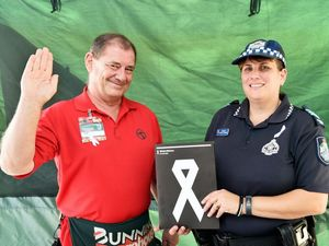 Go to Bunnings Hervey Bay to swear oath against violence