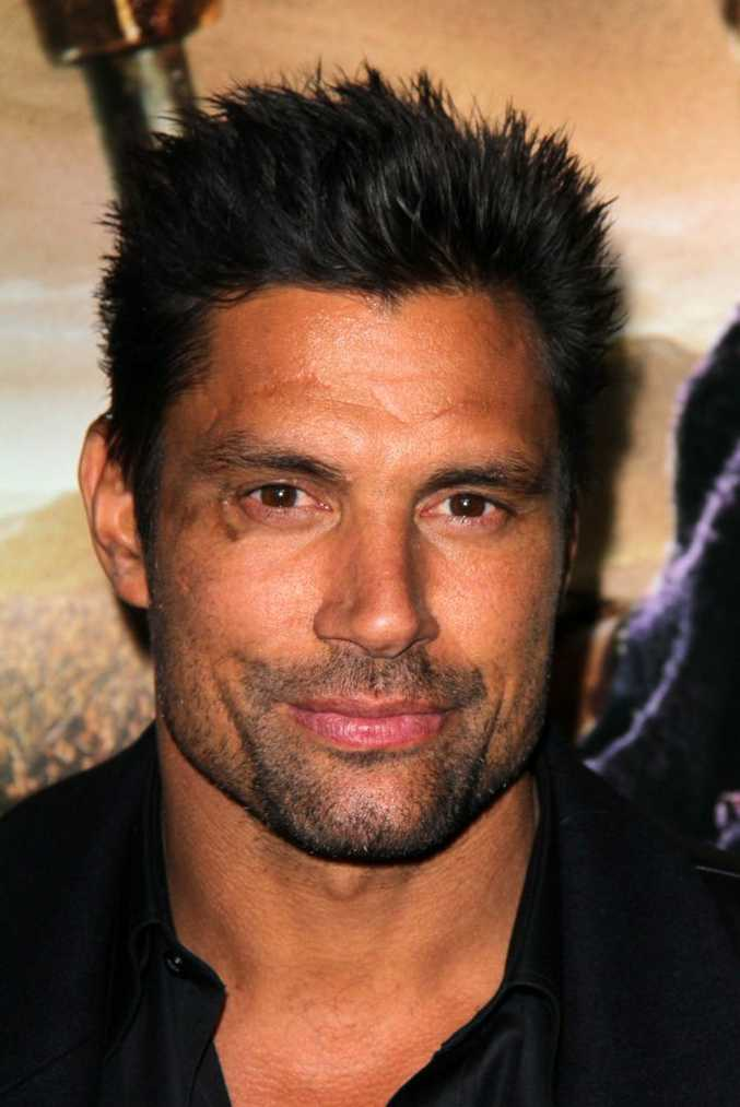 Actor Manu Bennett pictured at the Spartacus: War Of The Damned premiere in Los Angeles.