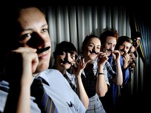 Trinity kids raise movember funds with fantastic plastic mos