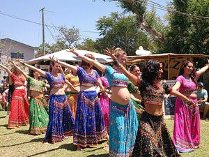 Bollywood sisters at the Mullum Music Festival