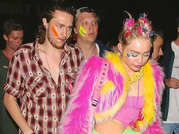 Miley Cyrus at her birthday bash