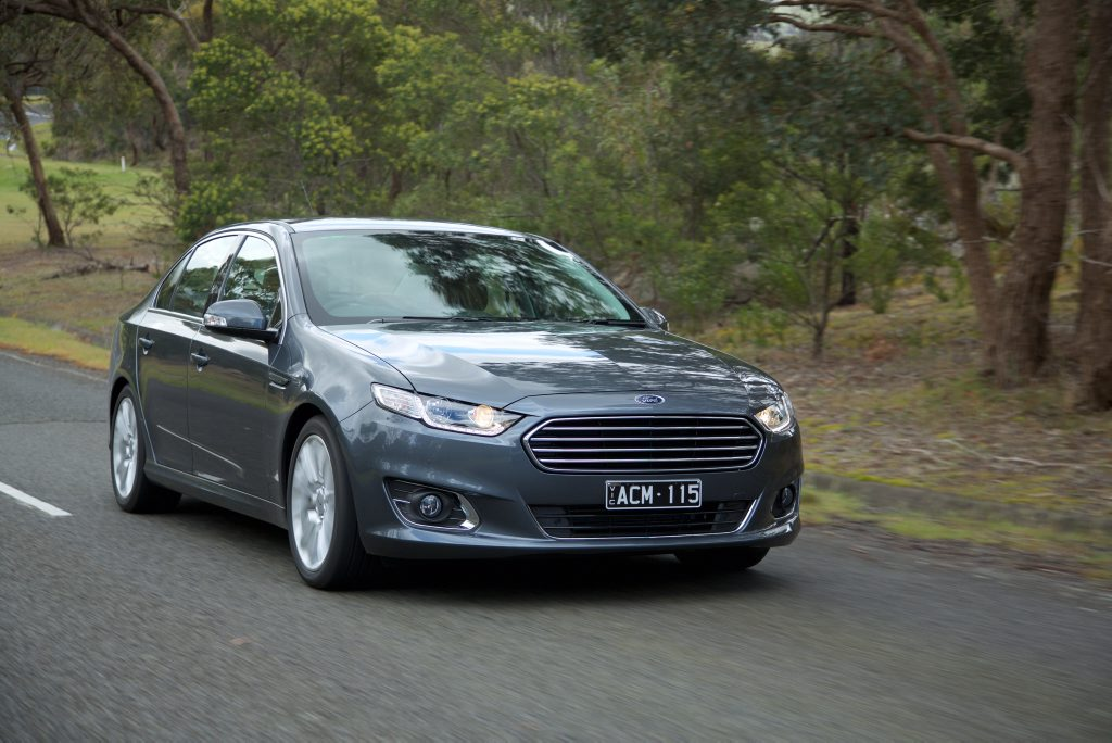 The Ford Falcon FG X.