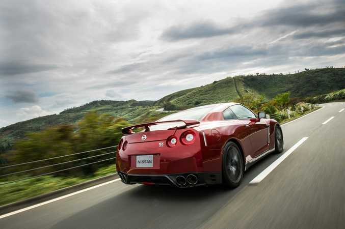 The 2015 Nissan GT-R.