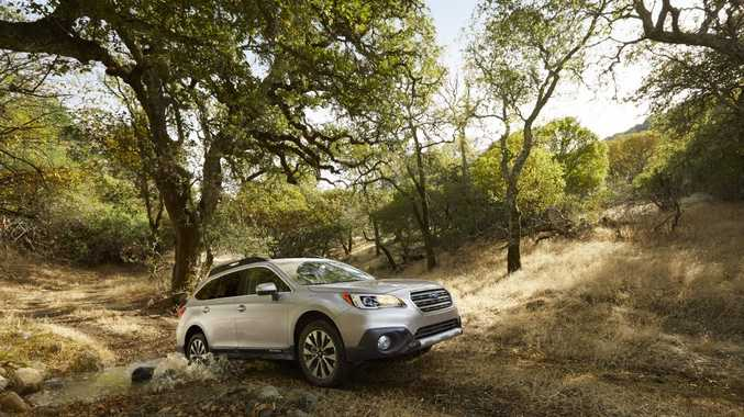 The new MY15 Subaru Outback.