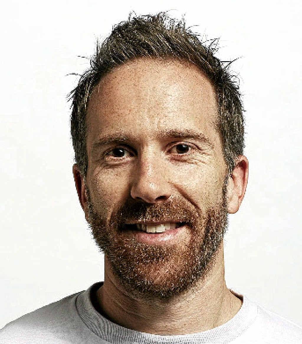 Comedian Adam Rozebachs