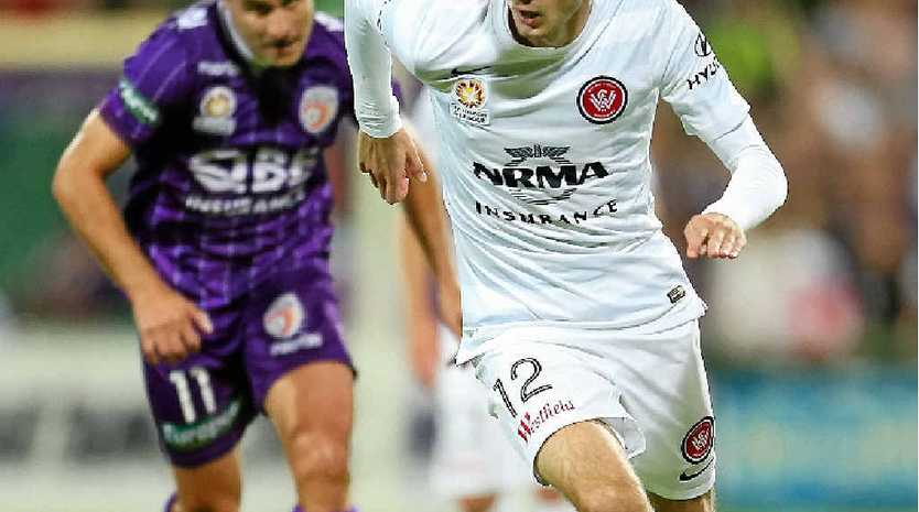 GRUDGE MATCH: Western Sydney Wanderers striker Nikita Rukavytsya is looking forward to playing in his first Sydney derby this weekend.