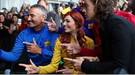The Wiggles meet One Direction on the ARIAs red carpet.