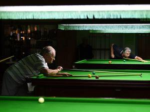 Bribie  Over 70s Handicap Snooker Tournament
