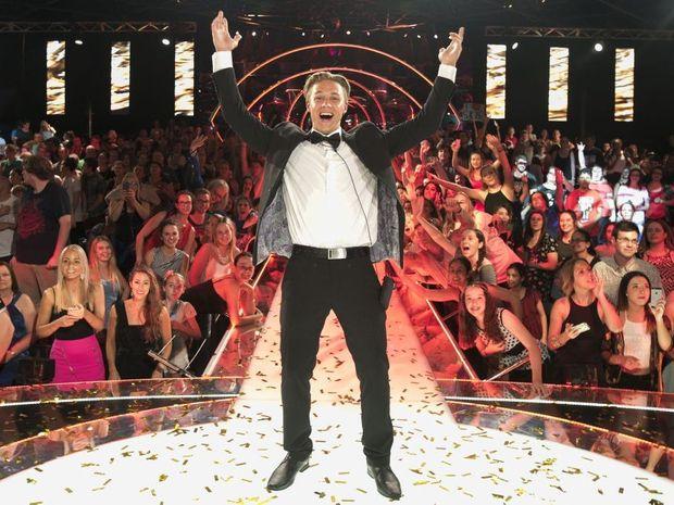 Big Brother 2014 winner Ryan Ginns. Supplied by Channel 9.