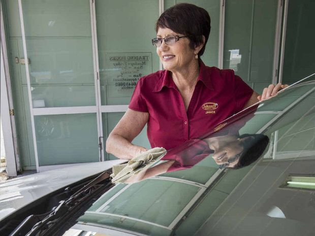DRIVING AWAY: Owner of Johnnos Quality Cars Janice Battersby is retiring this weekend from the long-running business. Photo: Adam Hourigan