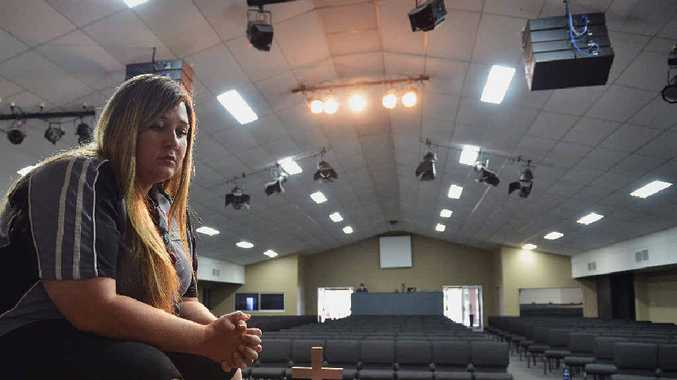 DEVASTATED: Victory College school chaplain Cheree Hughes is upset at the State Government's decision to ban state primary schools from attending this year's Christmas concert.