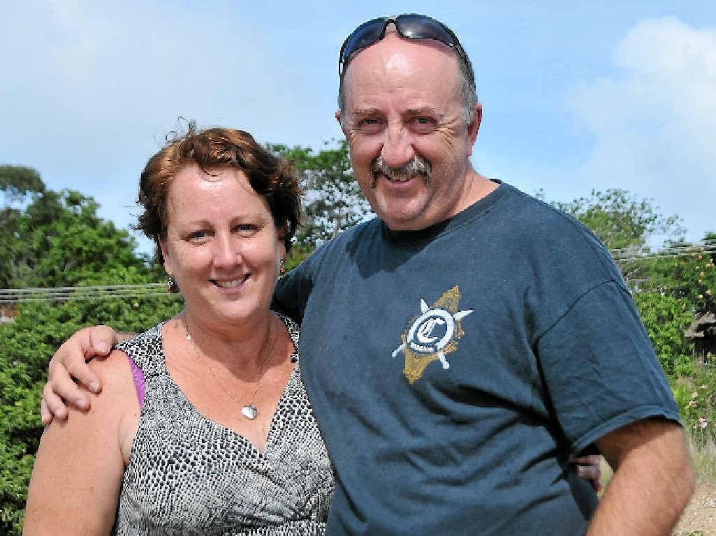FORWARD FOCUS: Pam and Warwick Taylor would start planning for the future of Gladstone if they were mayor for the day.