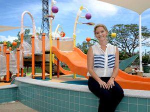 Swimming pool precinct a step into future