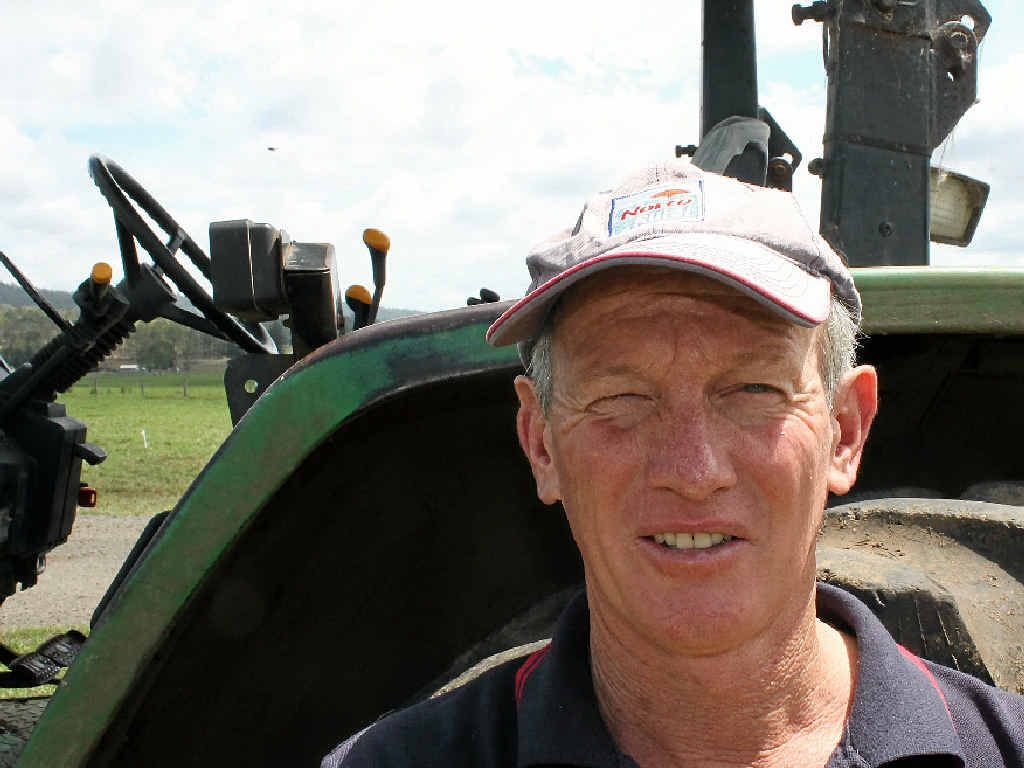 GOOLMANGAR dairy farmer and Norco director Greg McNamara.