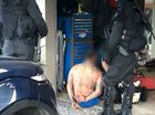 Police have carried out a series of raids targeting members of the Rebels outlaw motorcycle gang in Queensland.