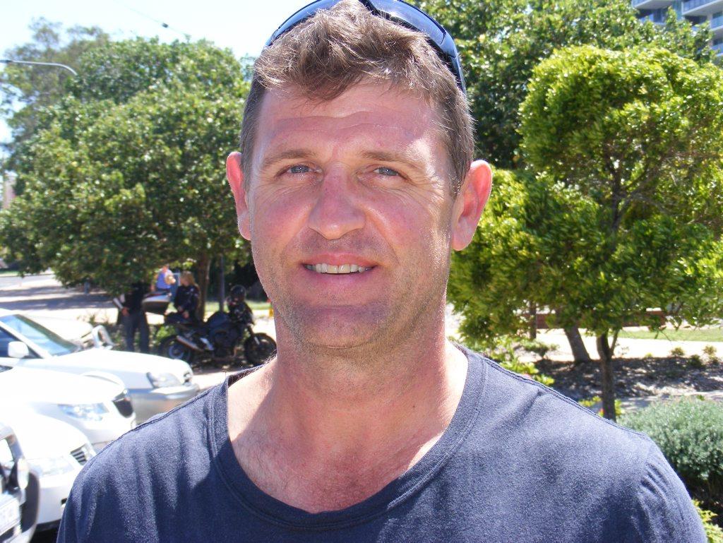 Wayne Dover, Maroochydore Photo Richard Bruinsma / Sunshine Coast Daily