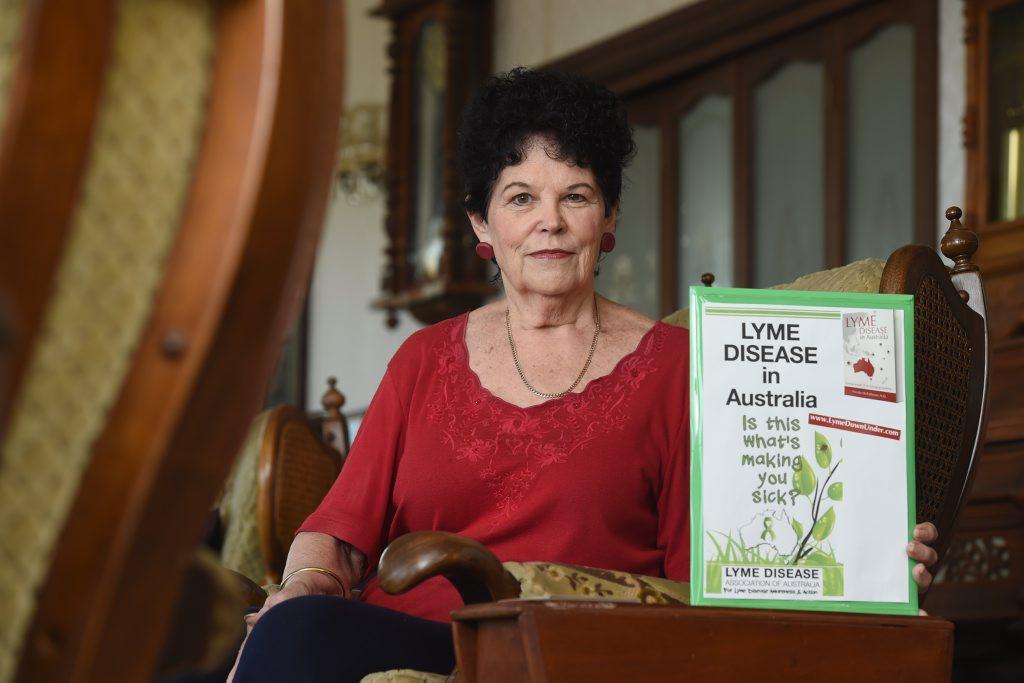 Joy Daniel suffers from Lyme disease.