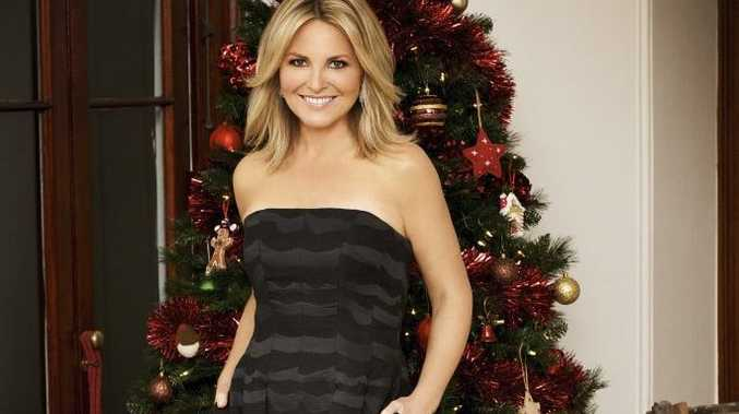 Georgie Gardner in the TV special Christmas with the Australian Women's Weekly.