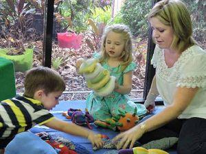Gordon White Library corners kids' play time