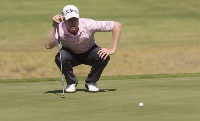 Andrew Dodt lines up in this week's 100th Australian Open being played at Sydney's Australian Golf Club.