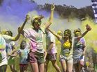 Big crowd of runners delight in colourful fundraiser